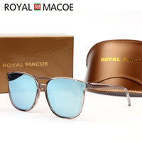 ROYALMACOE 2020 Brand New Korea Design Women Gentle Sunglasses Cat Eye Sunglass Men Retro Vintage Sun Glasses For Women Jack Bye