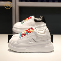 RY-RELAA sneakers women springtime new style womans shoes 2020 fashion Genuine Leather white shoes ins luxury casual shoes women