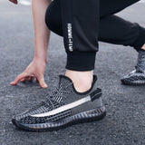 Reflective shoes men sneakers High quality mens shoes Platform sneakers men sport shoes 2020 New mens shoes casual Running shoes