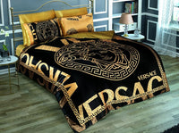 Ship From TURKEY Estilo Markets Black Lux Bedding Sets