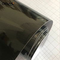 Super quality Ultra Gloss 5D Carbon Fiber Vinyl Wrap 3D Texture Super Glossy 5D Carbon Film With Size 50cm*150cm/200cm/300cm