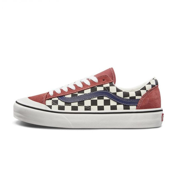 Vans STYLE 36 SF Men and Women Shoes Original Authentic Red Outdoor Street Style Low Canvas Lattice Light 2019 New VN0A3MVLVS9