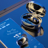 Wireless Earphones TWS Bluetooth 5.0 Mini Earbuds Stereo Bass LED Power Display Noise Cancelling Sports Waterproof Earbud In Ear