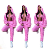 Women Clothes Streetwear Rave Festival Club Wear Trendy Outfits Matching Sets  Casual 3 Piece Set F305