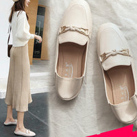 Women Flat Shoes 2019 Casual Fashion Slip-on Ballerina Woman Flats Split Leather Loafers Ladies Spring Autumn lady Footwear New