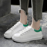 Women Shoes 2019 Spring Summer Platform Lace-up White Shoes Sneakers Women Tenis Feminino Casual Female Shoes Woman