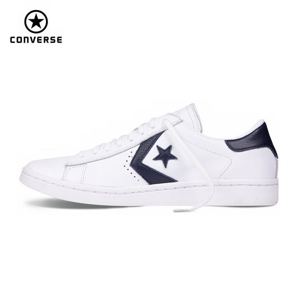 new original Converse Star Player Leather women's sneakers spring and autumn Contrast color Leather Skateboarding Shoes 555930C