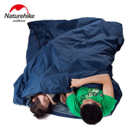 Naturehike Lengthened Envelope Sleeping Bag Cotton Splicing Ultralight Adult Portable Outdoor Camping Hiking 3 Seasons 205*85cm