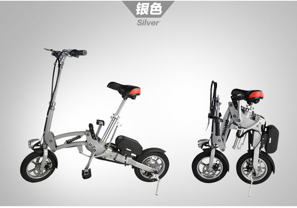 Foldable Electric Bike Mini Cycling Lithium Battery Bicycle