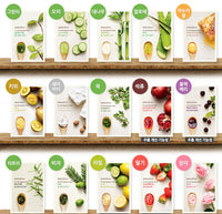 It's Real Squeeze Mask Sheet 15pcs-15 kinds Made in Korea Fruit Face Mask