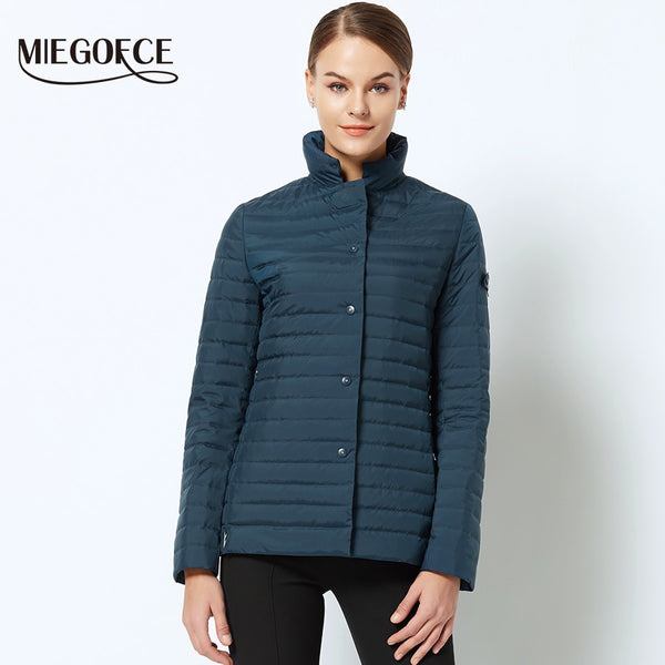 New Spring Collection of Jacket MIEGOFCE 2018 Stylish Windproof Women's Parka Coat Female Spring Jacket Coat Womens Quilted Coat