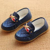 2018 sping autumn new child shoes leather soft bottom boys baby shoes for boys children leather flat shoe fashion causal shoe