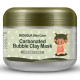 BIOAQUA 2PCS/lot little Pig Pigskin Collagen Nourishing Mask Carbonated Bubble Clay Mask Moisturizing Brighten Skin Care Set