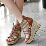 Extreme High Heel Sandals Women 2018 Summer Women Sandals High Quality Platform Sandals