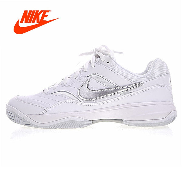 Original New Arrival Authentic Nike COURT LITE Lightweight Breathable Women 's Tennis Shoes Women Sports Sneakers Shoes