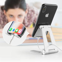 Rotatable Aluminum Alloy Tablet Holder for ipad air 1/2 mini 1/2/3/4 pro 9.7 10.5 12.9 Foldable Cell Phone Holder Stand Support