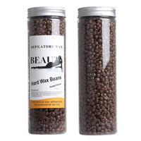 Coffee Flavor 400g Body Waxing Hard Wax Beans Summer Depilatory Wax Salon SPA Hot Film Wax Bean For Hair Removal