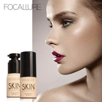 Focallure Waterproof Natural Flawless BB Cream Whitening Moisturizing Concealer Nude Foundation Makeup Face Beauty
