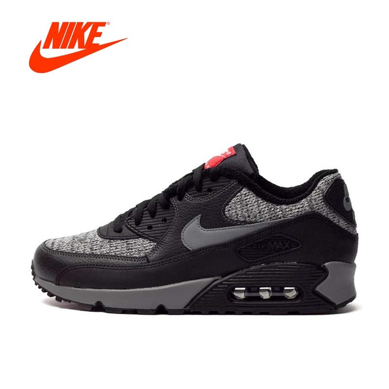 Original New Arrival Authentic NIKE AIR MAX 90 ESSENTIAL Men's Breathable Running Shoes Sport Outdoor Sneakers 537384 065
