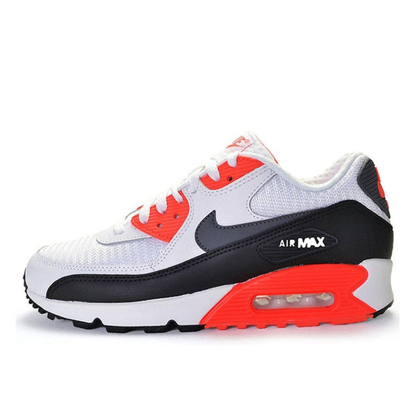 Original New Arrival Authentic NIKE AIR MAX 90 ESSENTIAL Men's Breathable Running Shoes Sport Outdoor Sneakers 537384-065