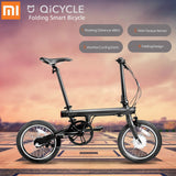 Original Xiaomi QiCYCLE - EF1 Folding Electric Bike Bluetooth Smart Electric Bicycle 16inch Bicycle Support APP 100% WITHOUT TAX