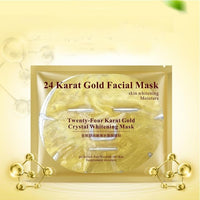 Bioaqua 24K Gold Collagen Facial Mask Face Mask Crystal Gold Collagen Face Mask Moisturizing Anti-aging Face Skin Care Cosmenics