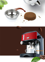 New&hot 15 bar professional stainless steel body Thermo-block system Espresso coffee maker household boiler cappuccino machine