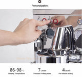 Commercial Triple thermoblock Professional espresso coffee machine coffee Latte cappuccino maker stainless steel body