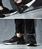 WINDRIDERISM New Arrival Men Sneakers High Tech Damping Flyknit Breathable Cozy Men Casual Shoes Fashion Zapatillas de Hombre