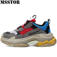 MSSTOR Retro Women Men Running Shoes Casual Fashion Breathable Sport Shoes Woman Man Brand Athletic Walking Ladies Sneakers