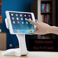 Universal Strong Sucker Mount Holder Bracket 360 Rotation Tablet Stand Support For Ipad 2 Air 1 2 Mini 1 4 xiaomi huawei tablet