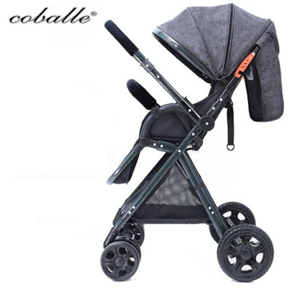 Coballe baby stroller light folding car umbrella can sit can lie ultra-light portable on the airplane