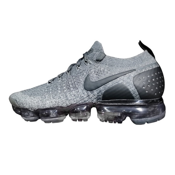 Original Nike Vapormax Flyknit 2.0 Men's Running Shoes ,Grey/Blue,Wear-resistant Lightweight Breathable 942842 002 AA3858 103