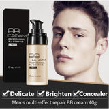 LAIKOU Men BB Cream Face Cream Natural Whitening Skin Care Men Effective Care Sunscreen Face Foundation Base Makeup Skin Color