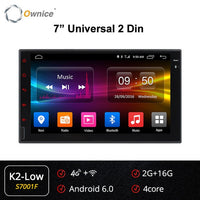 Ownice K1 K2 K3 Octa  8 Core Android 2G RAM  32GB ROM Support 4G LTE SIM Network Car GPS 2 din Universal car Radio dvd player