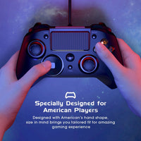 Mpow Wired Gamepads Game LED Light Gamepads Controller USB Gamepad With And Trigger Bottouns Gamepads For PS4/PS3/Win/Android TV