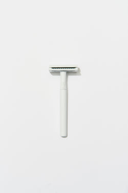 MATTE White Safety Razor