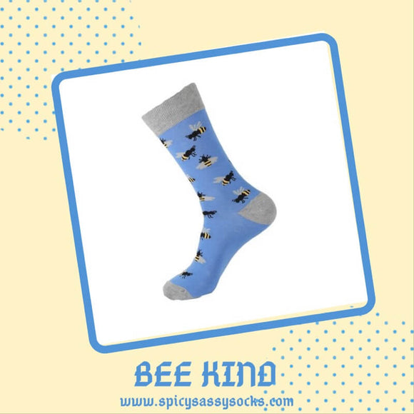 Bee Kind - Spicy Sassy Socks