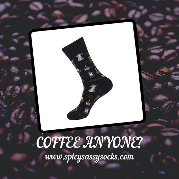 Coffee Anyone? - Spicy Sassy Socks