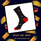 Spicy Hot Stuff - Spicy Sassy Socks