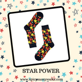Star Power - Spicy Sassy Socks