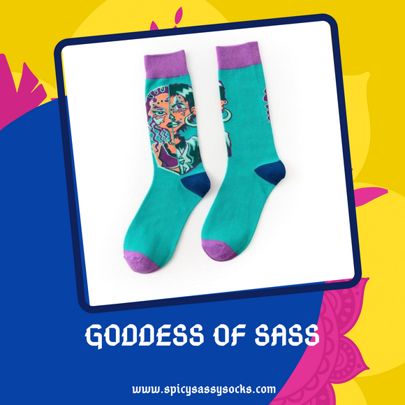 Goddess of Sass - Spicy Sassy Socks