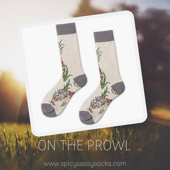 On the Prowl - Spicy Sassy Socks