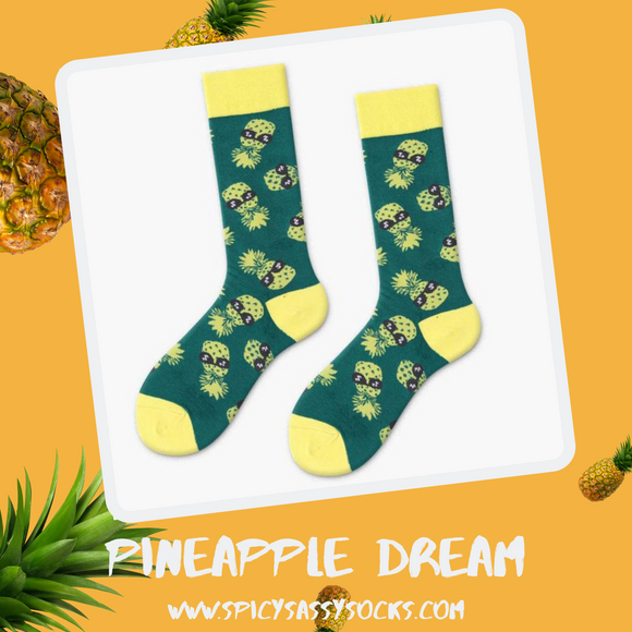 Pineapple Dream - Spicy Sassy Socks