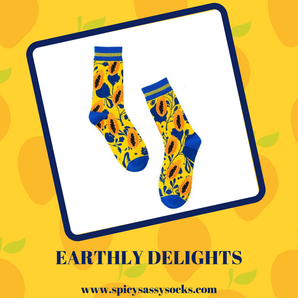 Earthly Delights - Spicy Sassy Socks