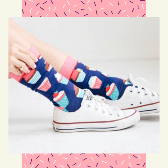Hey Cupcake - Spicy Sassy Socks