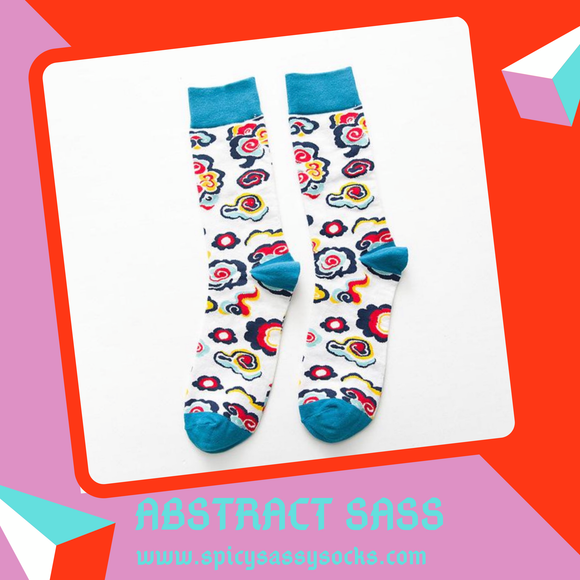 Abstract Sass - Spicy Sassy Socks
