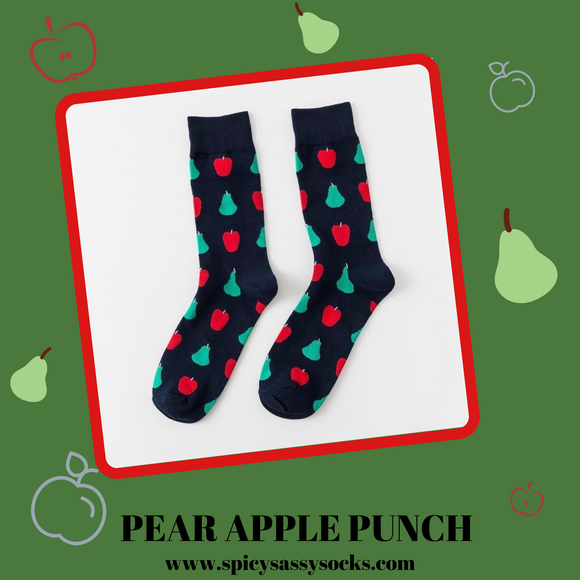 Pear Apple Punch - Spicy Sassy Socks