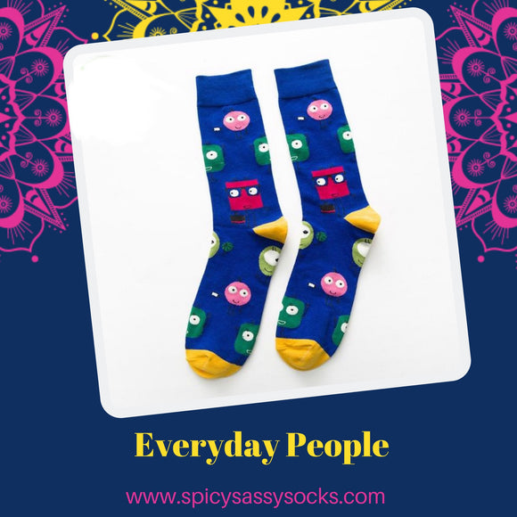 Everyday People - Spicy Sassy Socks