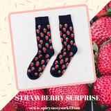 Strawberry Surprise - Spicy Sassy Socks
